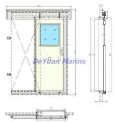 Aluminum Door For Wheelhouse