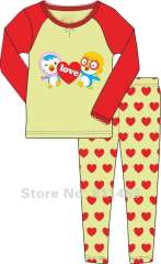baby cartoon pajamas set # XG-015 \ kids long sleeve clothes \ free shipping
