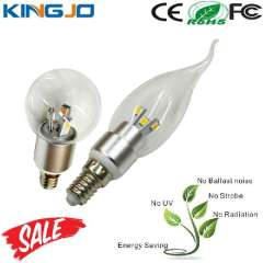 360 Degree 3W E14 Led Flicker Flame Candle Light Bulbs