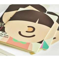 Korea stationery small gift cute notepad small book stitch book b5