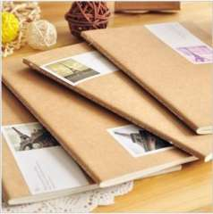 Korea stationery fresh vintage cowhide stitch book notepad boxing a5 stitch book