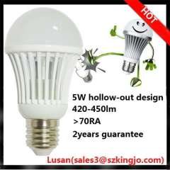 Indoor lighting 230V e27 lamp hollow out led bulbs
