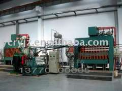 Thermo-compression machine oil furnace