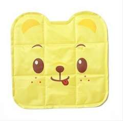 2012 thick matte reflective fabric quality ice pad | 3D Animals | yellow | BK01 dog