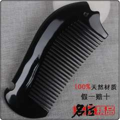 Natural heishui horn comb well known comb anti-static comb
