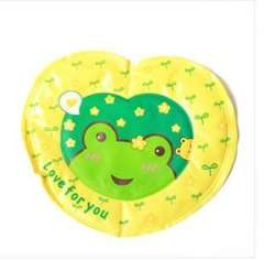 2012 thick matte reflective fabric quality ice pad | Heart | Oil Green | Frog