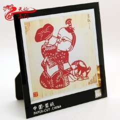 Gift commercial Christmas gift traditional home decoration paper cutting photo frame