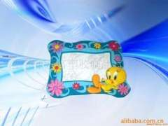 Environmental soft frame, cartoon frames, pvc frame, plastic frames
