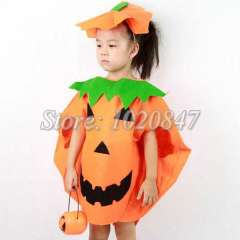 Children clothing pumpkin Halloween costumes