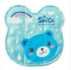 2012 thick matte reflective fabric quality ice pad | 3D Animals | royal blue | BK06 circle Cubs