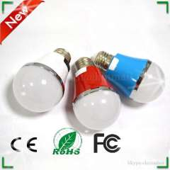 Three Color High Lumens 5W Hot Model SMD led bulb