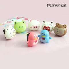 Gift household goods novelty gift yiwu cartoon animal toothbrush holder