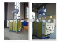 conduction oil electric heating system