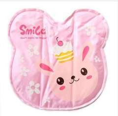 2012 thick matte reflective fabric quality ice pad | 3D Animals | Pink | BK02 bunny
