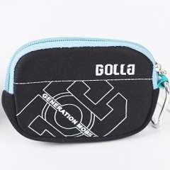 Fashion submersible material shockproof waterproof camera bag coin purse
