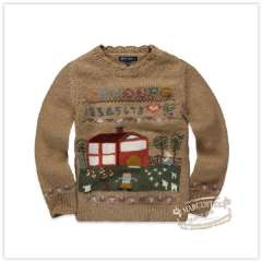 Rtw children's clothing 2012 autumn new arrival j laciness o-neck jacquard hand embroidery knitted sweater rkcm13641