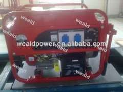 2kw to 6kw Portable Gasoline Generator Sets