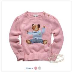 Rtw children's clothing 2013 spring new arrival j 100% cotton jacquard sweater child sweater rkcm13505