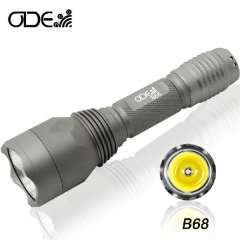 Cree Q5 300lm 5-Mode 18650\16340\CR123 battery LEd Torch Light Flashlgith Waterprof lamp Free Shipping