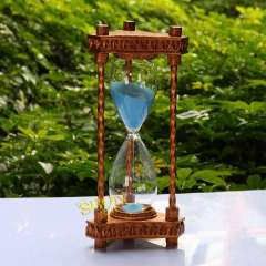 Hourglass timer birthday gift souvenir metal fashion vintage bronze color