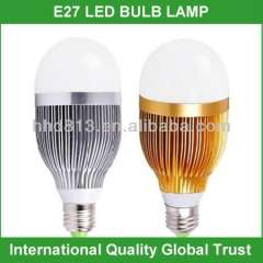 High quality e27 warm white 10w led bulb