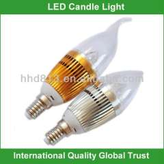 Best price e14 led candle bulb 5w