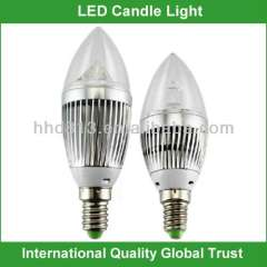 e14 dimmable led candle bulb