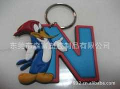 Wholesale Retro Korean PVC key chains, manufacturers large supply of fine Keychain