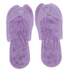 Korea Hot - super lightweight feet shaped massage slippers - purple