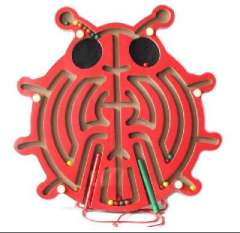 Scarab magnetic maze | Dual magnet | beetle magnetic maze toys brush