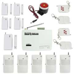 Wholesale 315M Wireless Home GSM Security Alarm System