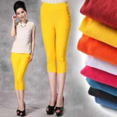 2013 spring and summer eight-color match | tight pencil pants feet (KZ1310)