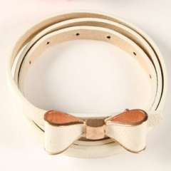 Fashion bow belt