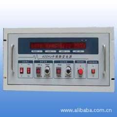 Single-entry three 3KVA400HZ IF static variable power supply