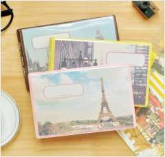 Vintage photo album eiffel tower fashion stationery