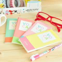 Stationery voca slitless words this notepad small fresh bookishness