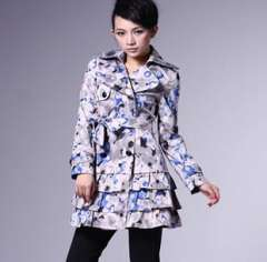 Winter European and American big | breasted suit | Women's coat | Jacket wholesale W62021