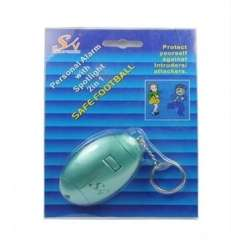 Wholesale Personal Alarm with Spotlight 2 in 1 Green