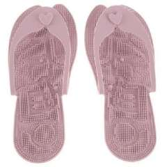 Korea hot selling-ultra portable foot-massage slippers-pink