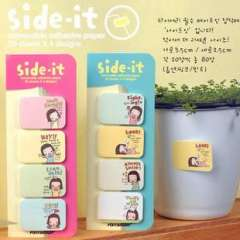 Korea stationery scratchpad set cartoon n times stickers biscuits girl mini message posted