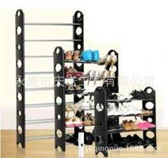 Assembling shoe factory outlets | floor multifunctional shoe rack | Storage simple shoe | no barrier | a generation of fat