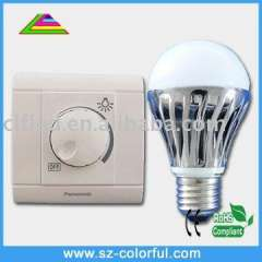 dimmable e27 6w light bulb led