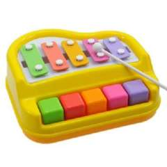 Musical toy - Color piano shape ten- hand knock piano
