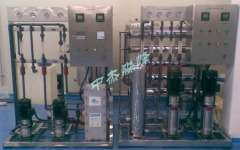 Reverse osmosis + EDI water treatment system