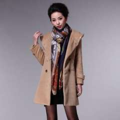 2013 European and American fashion ladies | Winter Hot wild | wholesale explosion models | wool coat (W6071-A)