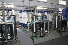 Waterworks Ultrafiltration systems, water treatment