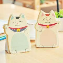 Stationery lucky cat sticky note paper n times stickers 5