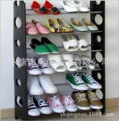 Easy brand promise celebrate factory direct selling | Storage ten-story shoe rack assembled | Multi | Shoe