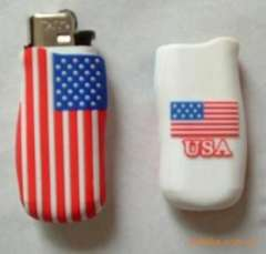 Supply of new advertising promotional gifts Silicone lighter sets