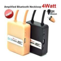 4 Watt Amplified Bluetooth Neckloop strong signal with upgrade 305 Earpiece invisible headset a680 Magnetic and 337 battery